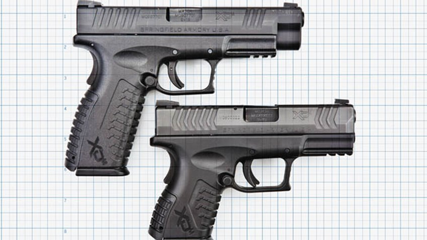 Best Guns for Women Springfield Armory XD Full-Size and Compact Semi-Auto Pistols